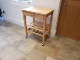 Portable kitchen trolley