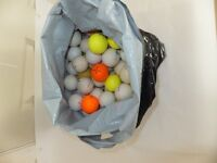100 used golf balls - ideal for practice.
