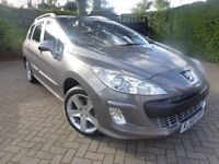 2008 PEUGEOT 308 SPORT SW HDI AUTO LOW MILEAGE STUNNING AUTOMATIC DIESEL