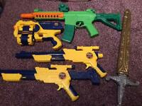 Kids guns bundle