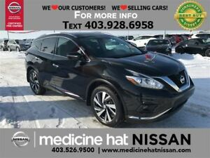 2015 Nissan Murano Platinum, Leather, NAV, A/C Seats