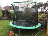 Large out door trampoline