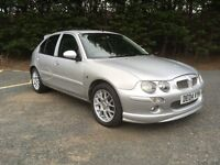 2004/04 MG ZR+ 5DR 76000 MLS MOT 12 MTHS