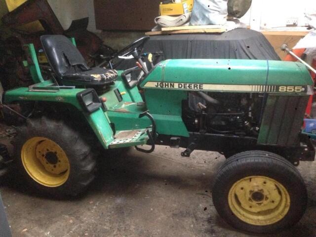 John Deere 855 Compact tractor   in Bures, Essex   Gumtree