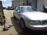 AUDI A8 D2 2002 2.8 V6 FACE LIFT LEATHER INTERIOR GEARBOX ENGINE PARTS BREAKING