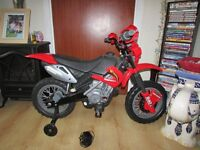 i have a kids electric moter bike for sale. 15