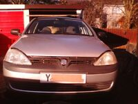 Vauxhall corsa c 1 ltr gls 2001 ,breaking for spares