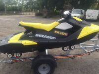Used 2016 Seadoo Spark 900 HO ACE 3up JetSki with iBR Like Brand New only 6 hours Old