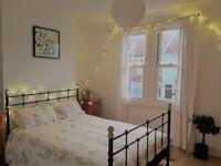 Large sunny double room in vegetarian/vegan houseshare (short or long term)