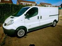 2012 Excellent renault trafic lwb 2.0 115 dci 1 previous owner No vat!!!