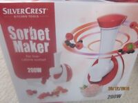 Sorbet Maker, brand new in box