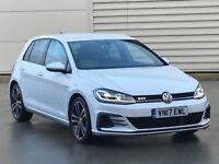 2017 17 REG Volkswagen Golf 2.0 TDI BlueMotion Tech GTD DSG 5dr** NEWSHAPE** diesel auto a3 s line