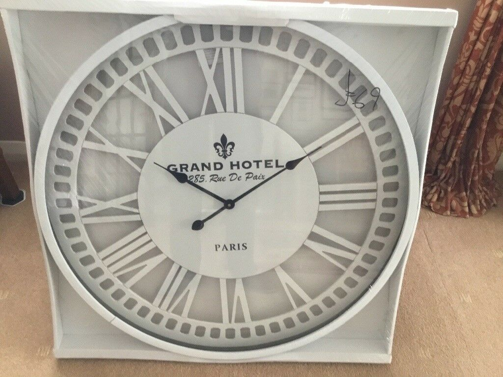 Large Contemporary Wall Clock And In Blackwood Caerphilly Gumtree