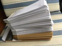 Various envelopes ✉️