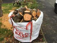 Cherry Tree Logs Bulk Bag