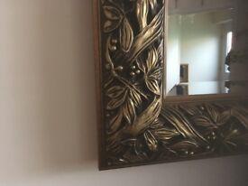 Antique Extra Large Mirror