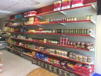 Shop shelves (over 400 shelves) with counter
