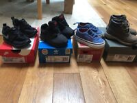 Selection of boys baby/toddler shoes