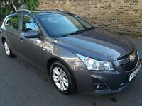 Chevrolet Cruze Grey Estate 63 Plate (2013) 1.8 LT 5d Auto Car For Sale £3500