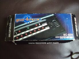 GEAR4MUSIC Guitar tuner
