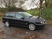 Jaguar x type estate 2.0 d