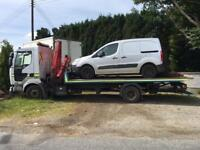 2003 Renault midlum tilt and slide recovery truck