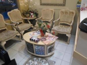 hair salon closing down sale / nail salon closing down sale / hair cutting chairs / spa pedicure chairs / washer dryer