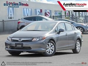 2012 Honda Civic LX *FORMER FLEET CAR* Full Service History,...