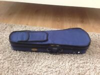 Stentor 1/4 (quarter) size violin case - blue