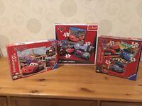 Disney Cars/Lightning McQueen jigsaws