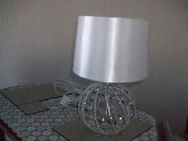 CHRYSTAL LAMP FROM BHS