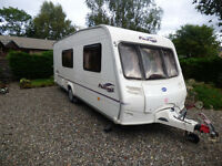 Bailey Pageant Champagne Series 5 4 Berth 2005 complete with Vango Inflatable Awning.