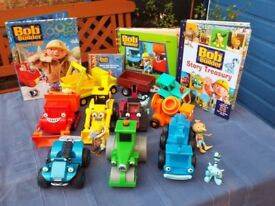 Large bundle of 'Bob the builder' toys and books