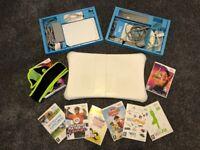 Nintendo Wii Fit, Balance Board, Zumba Belt, 7 Games, 2 Controllers & Nunchuck