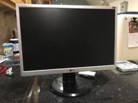 LG Flatron L225WS computer monitor.