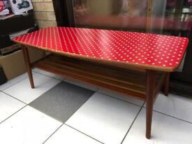 Retro Coffee Table - Wood Ercol Style
