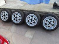vw Polo alloy wheel and tyres