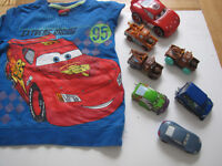 disney pixar bundle ( cars jumper age 2-3 years pictures and free posters )