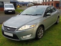 57 MONDEO 2.0 GHIA (140 SIX SPEED ) 12 MONTHS MOT WITH FULL HISTORY