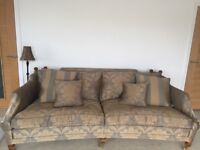 Sofa REDUCED FOR QUICK SALE 5 seater and chair -DURESTA