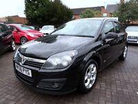 Vauxhall Astra 1.7 CDTi 16v SXi 5dr2006 (56 reg), Hatchback, 2 OWNERS, DIESEL, BLACK, 5 DOOR
