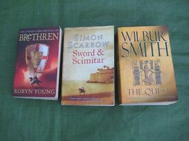 Three Long Paperback Novels - 3 for £5.00