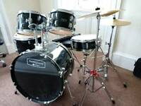 Mapex Tornado Drum Kit, Stool with Music Stand