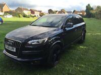 Audi Q7 s line tdi BLACK ALLOYS