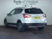 SUZUKI SX4 S-CROSS 1.6 Ddis Sz5 Allgrip 5dr [4wd, Electric Pan Roof, Reverse Camera] (silver) 2015