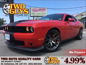 2015 Dodge Challenger SRT 392 TORRED 475HP NAV NAPPA LEATHER ROO