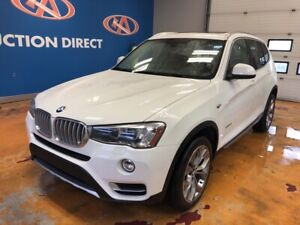2016 BMW X3 xDrive35i PANO SUNROOF! NAVIGATION! V6!