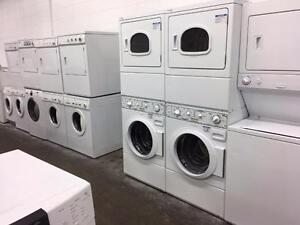 COMMERCIAL WASHER + DRYER PAIR-1 YEAR WARRANTY