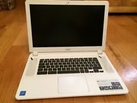 Acer Chromebook 15 (white) - Unwanted gift - as new but without box
