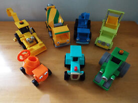 Bob the Builder toy set consisting of 7 vehicles
